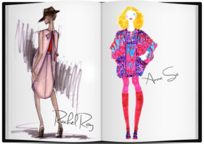 "Loftiss says ""New York Fashion Week Sketches REVEALED!!!!"""