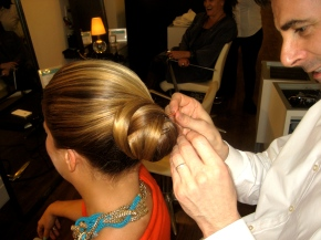 "Loftiss Says ""DIY- Fashion Week Hair. Step by Step Instructions for ""The DoorKnob"""