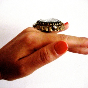 "Loftiss says ""Make It Work Monday!"" – Brooch into Ring"