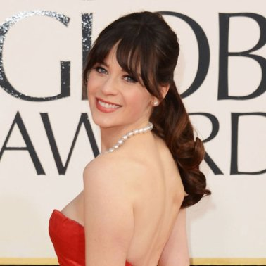 Pictures-Zooey-Deschanel-2013-Golden-Globes