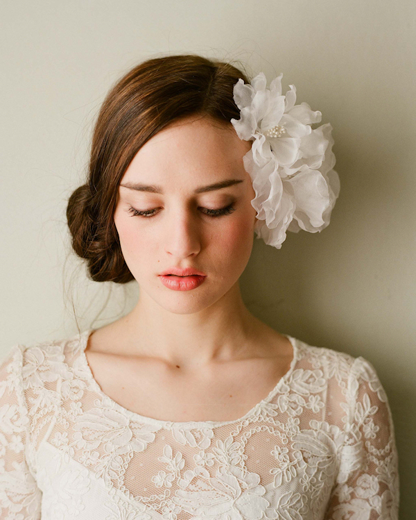 "Flower Wedding Headpieces: Loftiss Says ""Wedding Talk"": Practical Ways To Save"