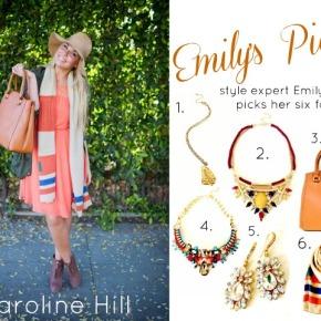 "Loftiss says ""Emily Loftiss for CarolineHill"""