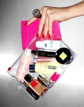 Loftiss says 'Makeup Bag Essentials- VacationEdition!'