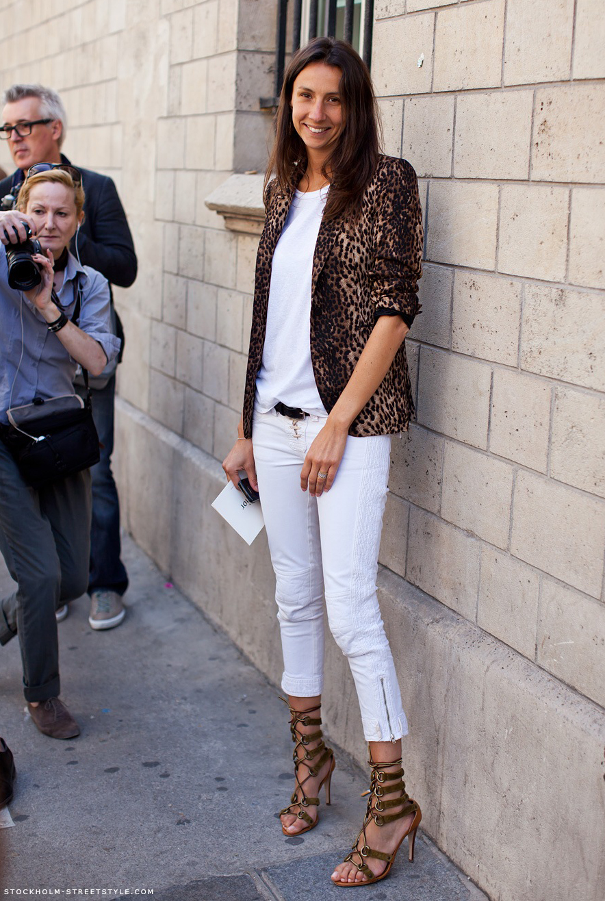 Loftiss Says How To Wear White After Labor Day
