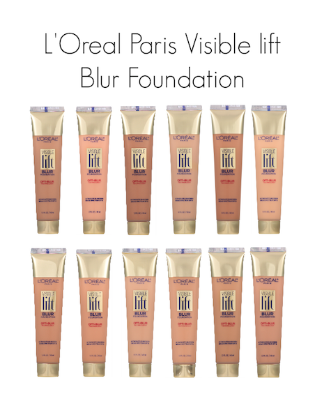 LOreal-Paris-Visible-Lift-Blur-Foundation-Shade-Chart