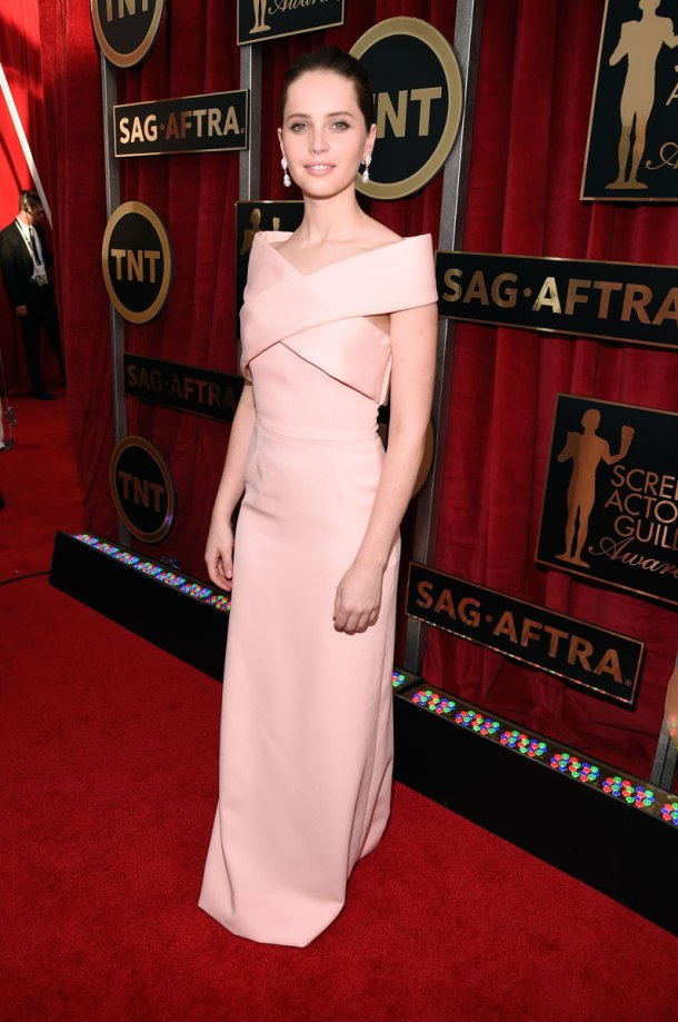 Felicity-Jones-sag-awards-red-carpet-2015-1