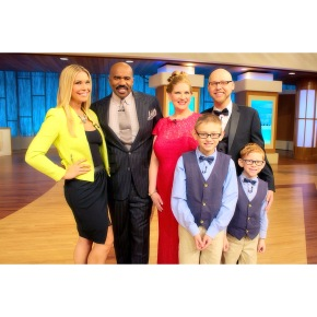 "Loftiss says ""My Super Mom Makeover on the Steve Harvey Show!"""