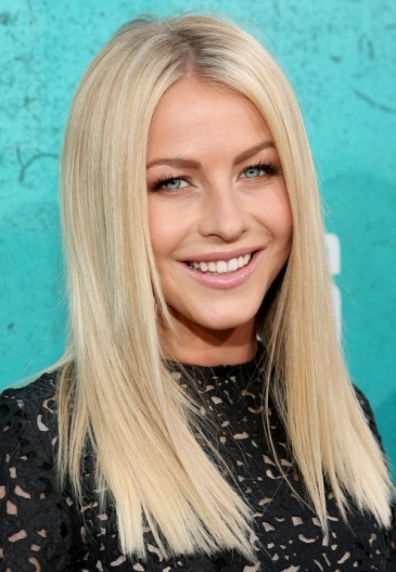 Julianne-Hough-Hairstyle-Long-Straight-Sleek-Blond-Hair-Inspiration