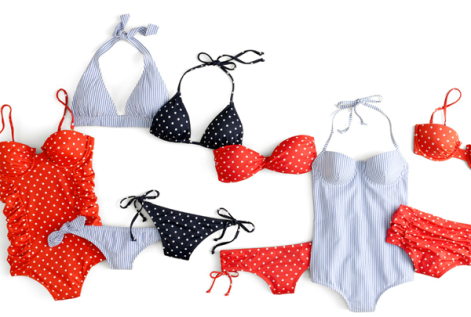 Red-White-Blue-Swimsuits