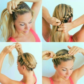 "Loftiss says ""Wrap Around Braid -Repost"""
